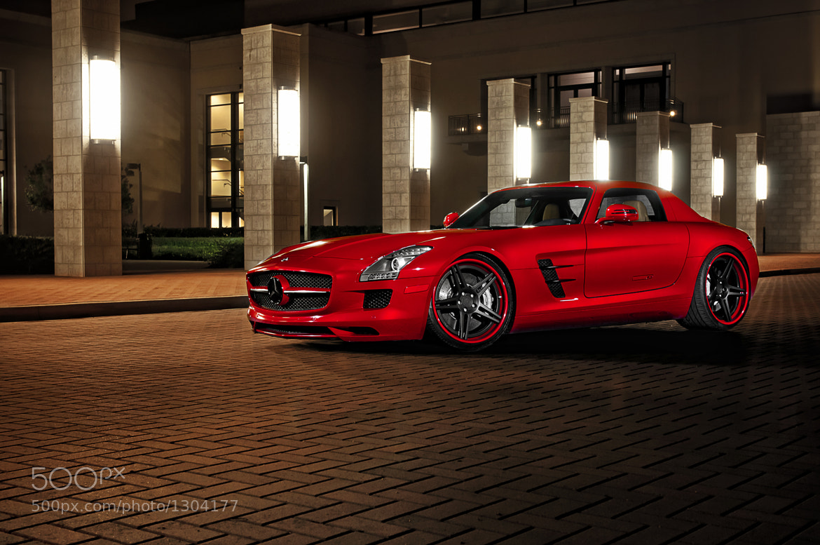 Photograph ADV.1 Wheels Boutique Mercedes SLS by William Stern on 500px