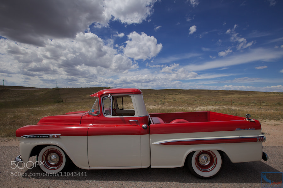 Photograph 1959 Chevy Apache 31 Fleetside by Pete Miller on 500px
