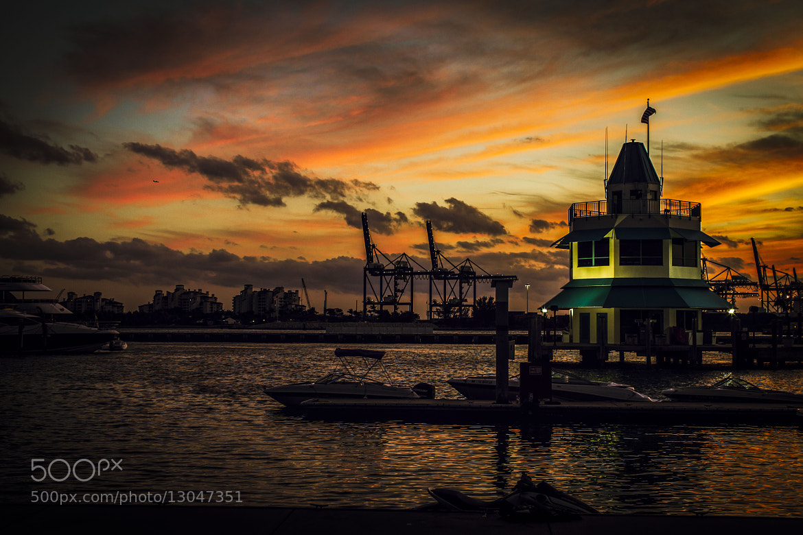 Photograph SoBe Sunset by Juan Davila on 500px