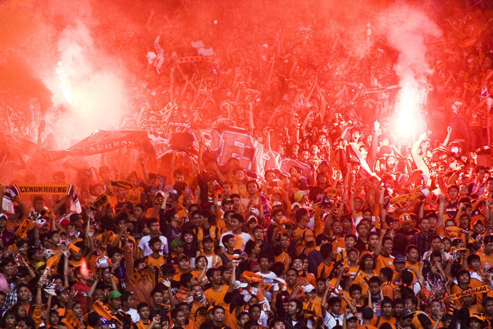 Photograph The Jakmania by Tonny Lee on 500px