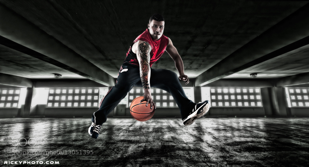 Sport photography hdr