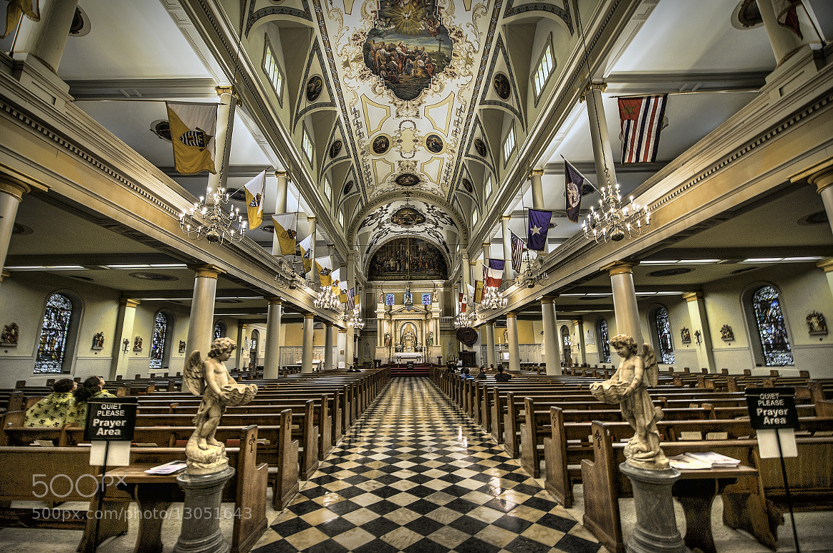 Photograph St. Louis Cathedral by Todd Leckie on 500px