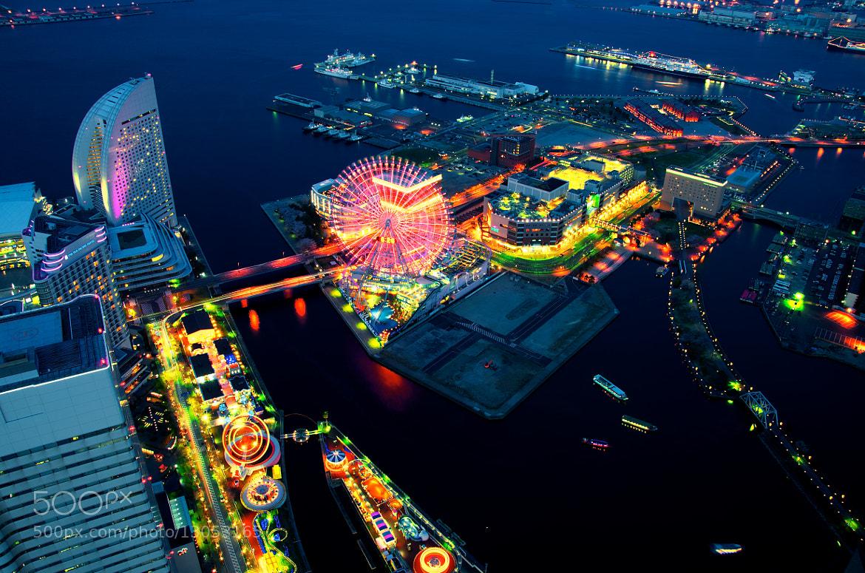 Photograph Dusk in Yokohama by mitsu miya on 500px