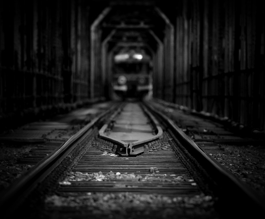 Photograph last train by Sebastian Luczywo on 500px