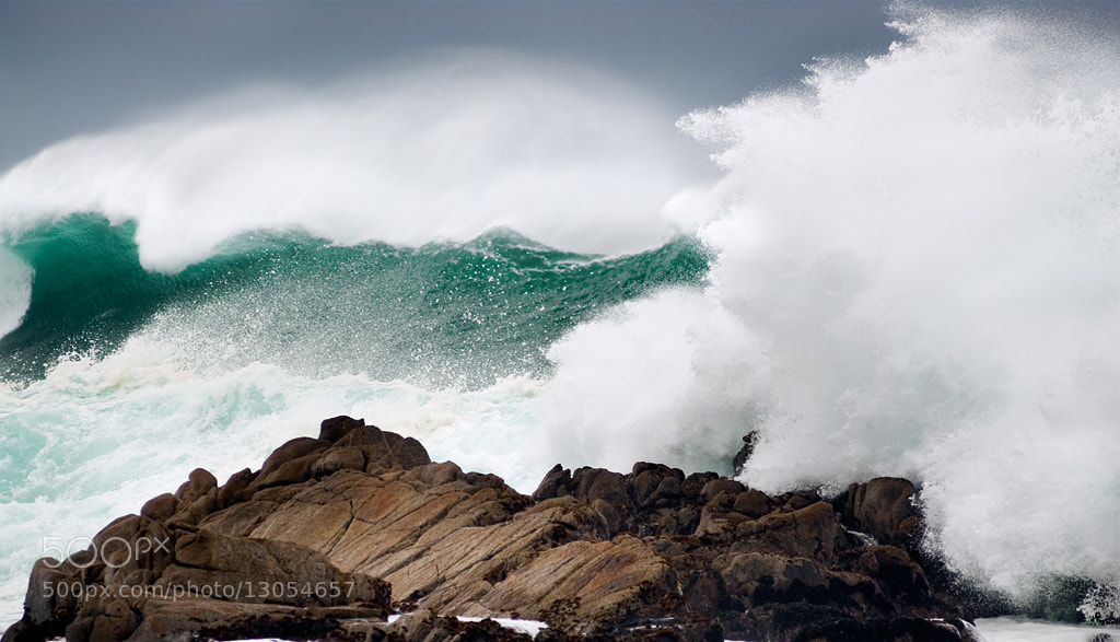 Photograph BIG waves - Monterey, CA by Tom Post on 500px