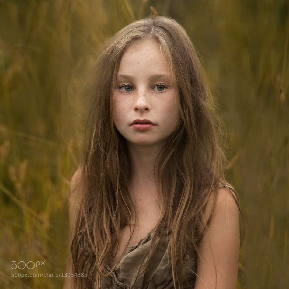 Photograph The Golden Girl by Magdalena Berny on 500px
