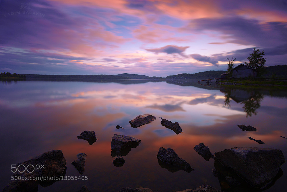 Photograph Sunset at Volchihinsk Lake (IV) by Vadim Balakin on 500px