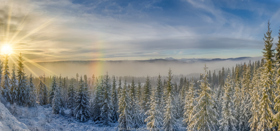 First Winter Afternoon by Jørn Allan Pedersen on 500px.com