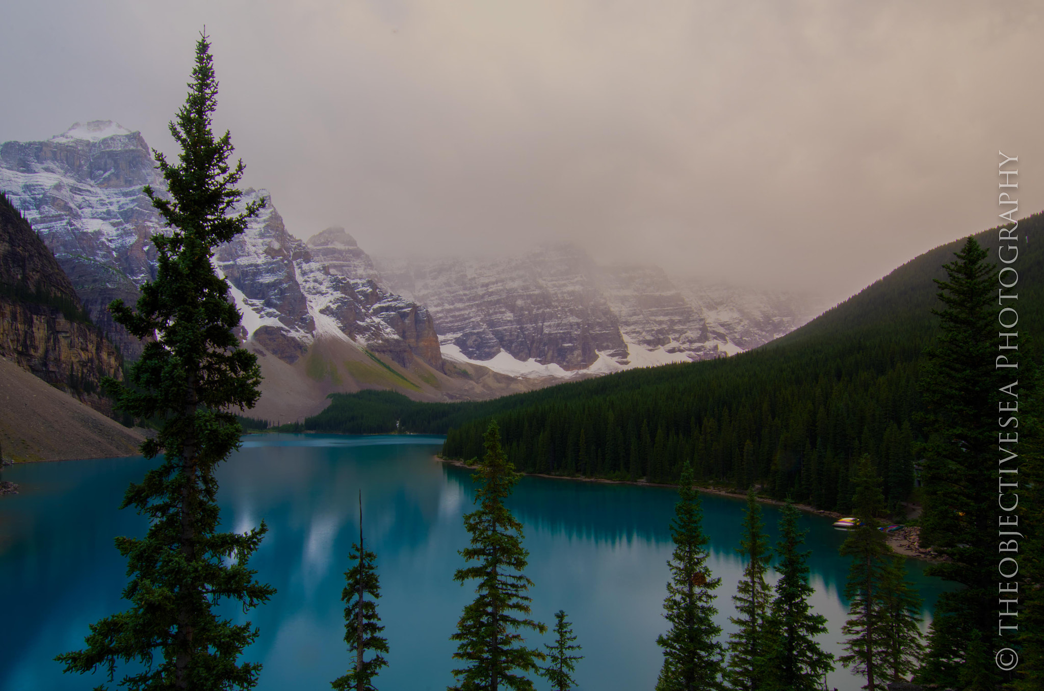 Photograph Moraine Lake Sunrise by Kevin Smith on 500px