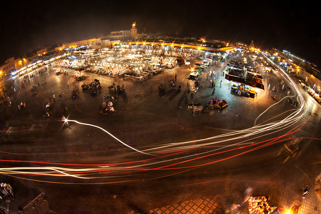 Photograph Planet Jemaa el Fna by Romain Matteï on 500px