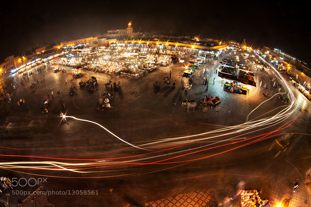 Photograph Planet Jemaa el Fna by Romain Matteï Photography on 500px