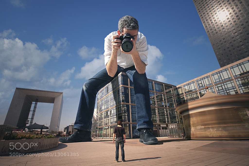 Photograph Little Big Men...in Paris by Cal Redback on 500px