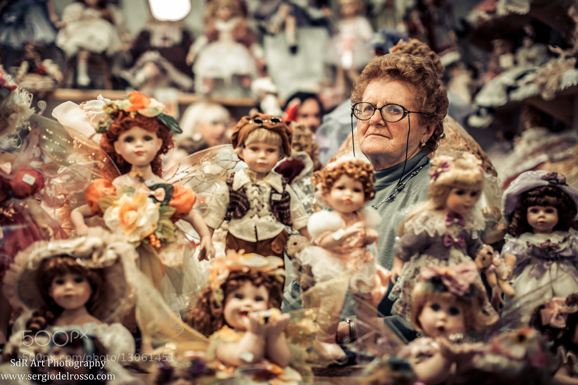 Photograph The Lady of Dolls by Sergio Del Rosso on 500px