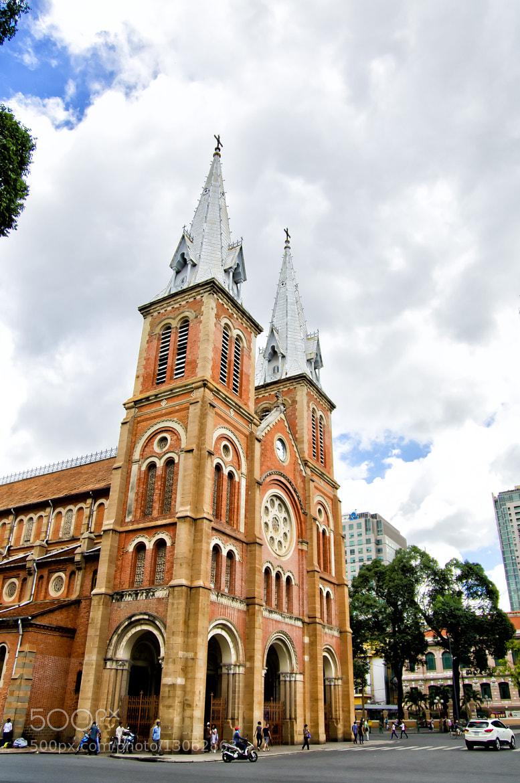 Photograph @Cathédrale Notre-Dame de Saïgon by Diep Nguyen on 500px