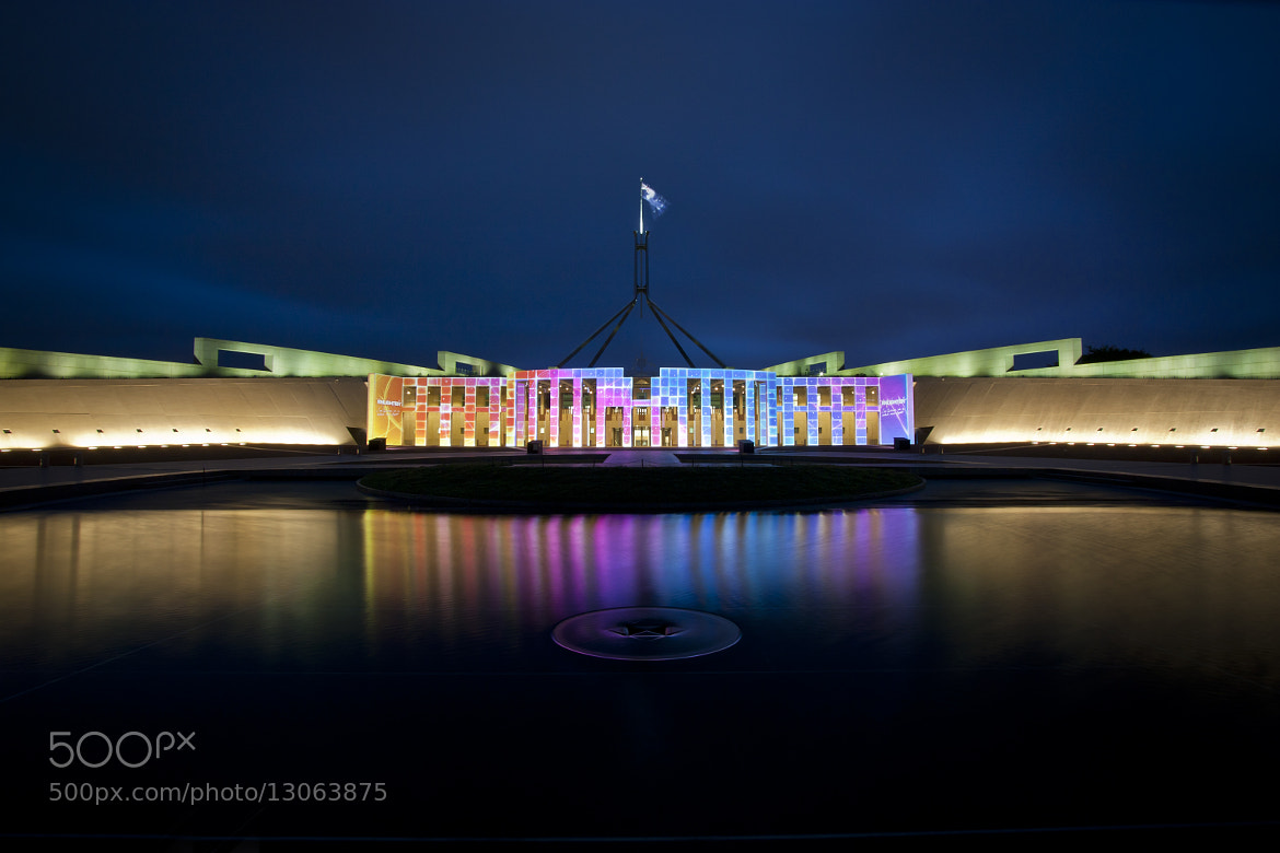 Photograph Enlighten Festival Canberra by Michael Giese on 500px