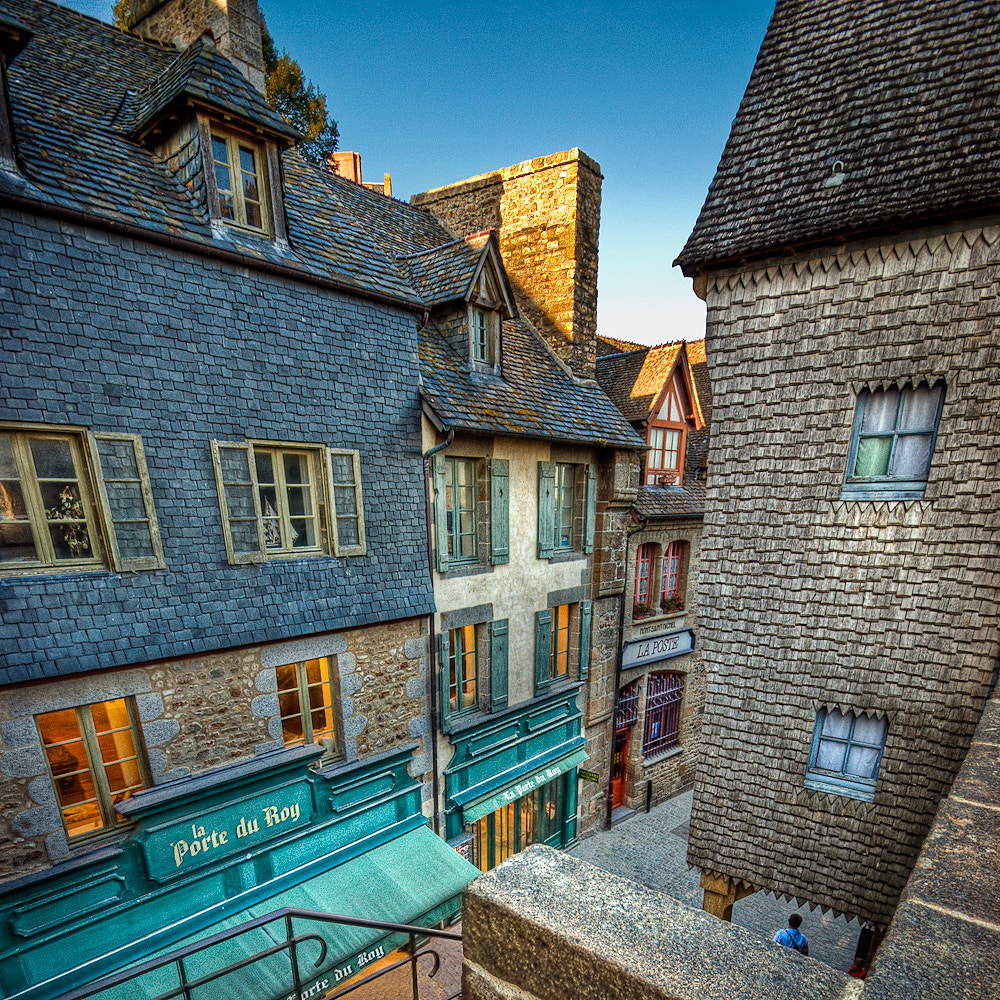 Photograph Idyllic Streets of Mont Saint Michel by Allard Schager on 500px