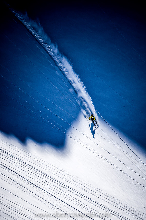 Powder Skiing in the Austrian Alps by Christoph Oberschneider on 500px.com