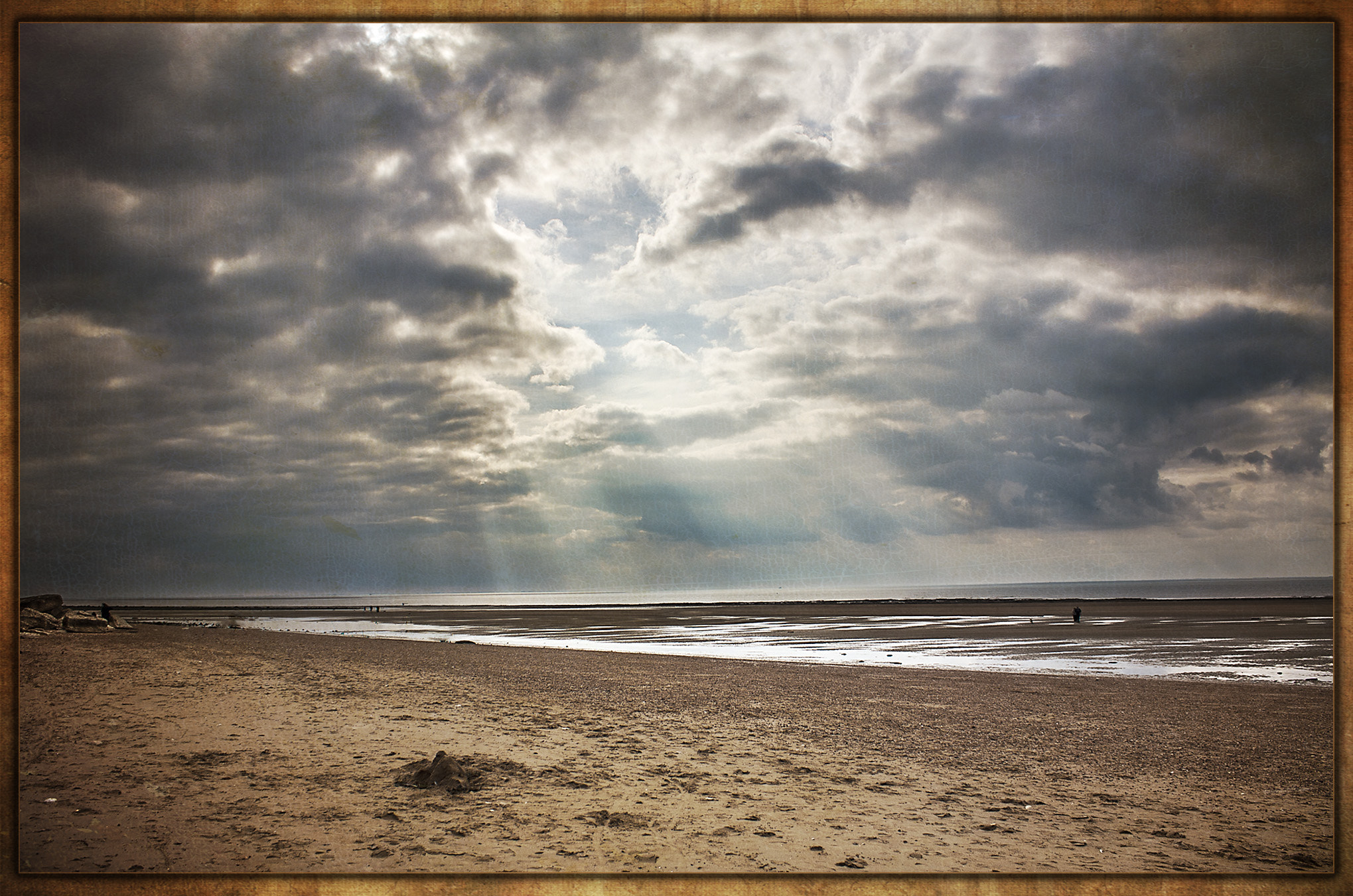 Photograph Hunstanton Rays by Eric Renno on 500px