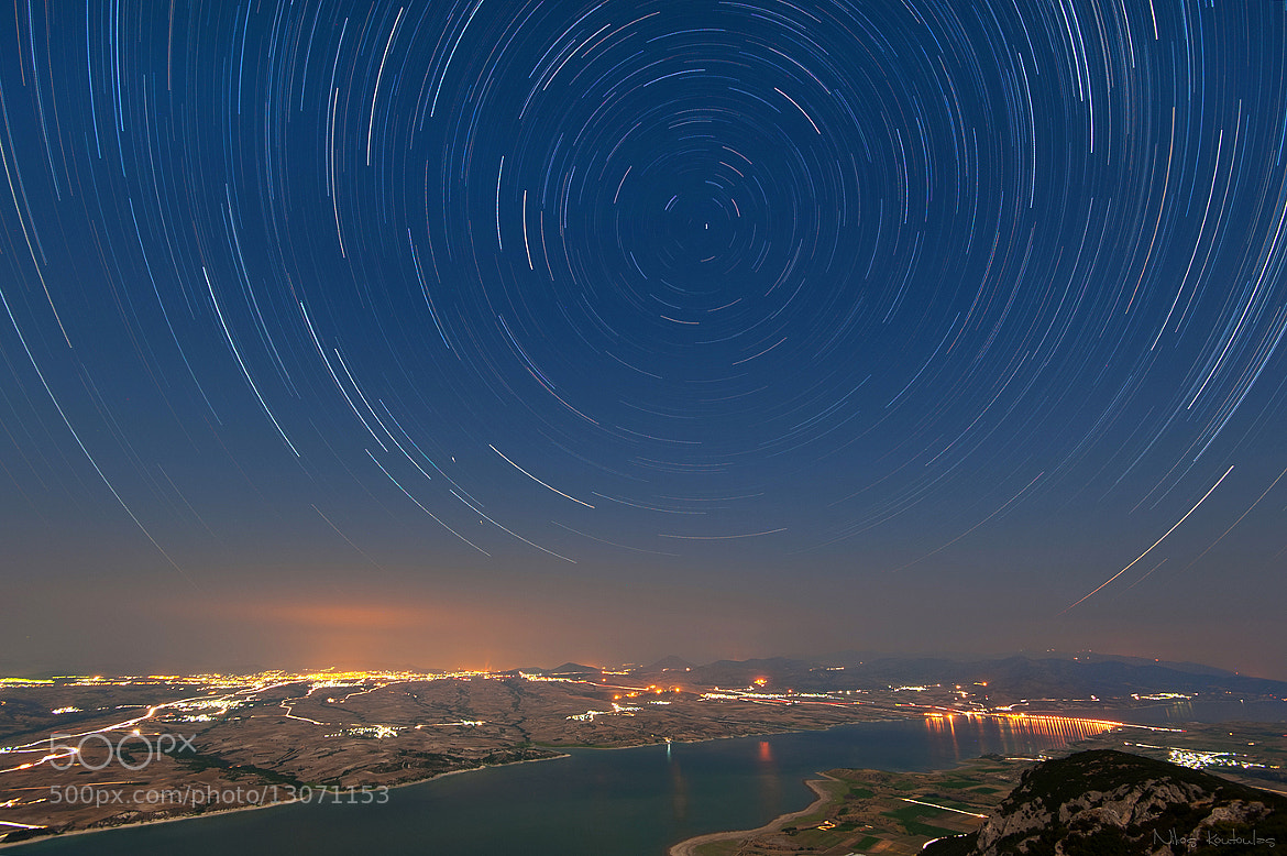 Photograph St Christopher startrails by Nikos Koutoulas on 500px