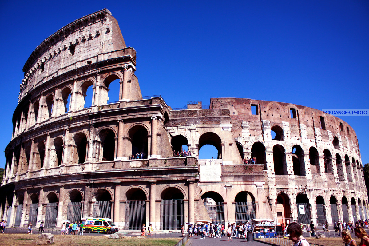 Photograph Colosseo-Rome by Eck Danger on 500px