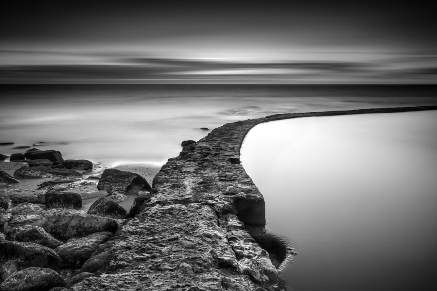 The line that crosses the ocean, автор — Henrique Silva на 500px.com