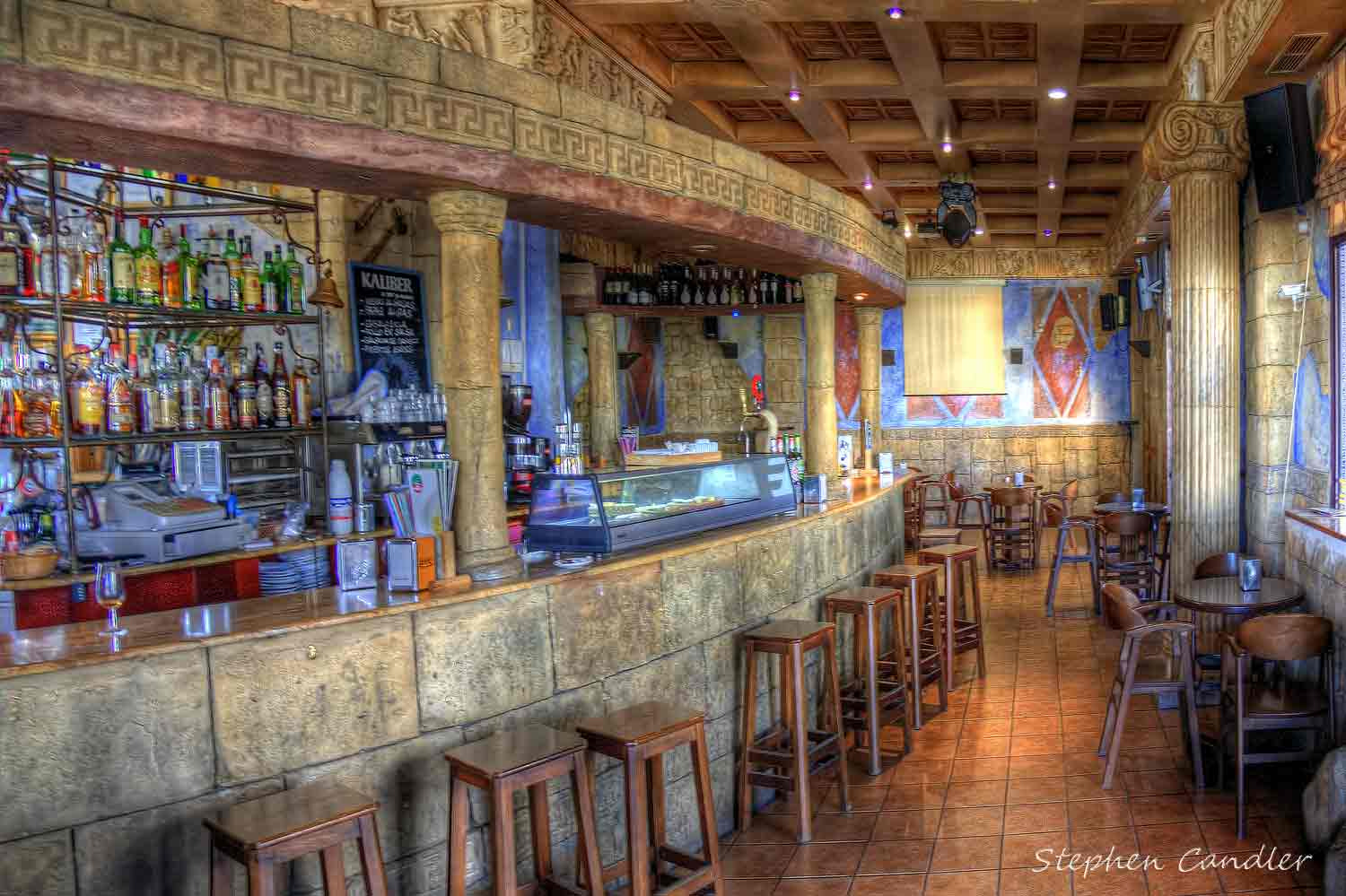 Photograph Bar At Rota Marina by Stephen Candler-Photography on 500px