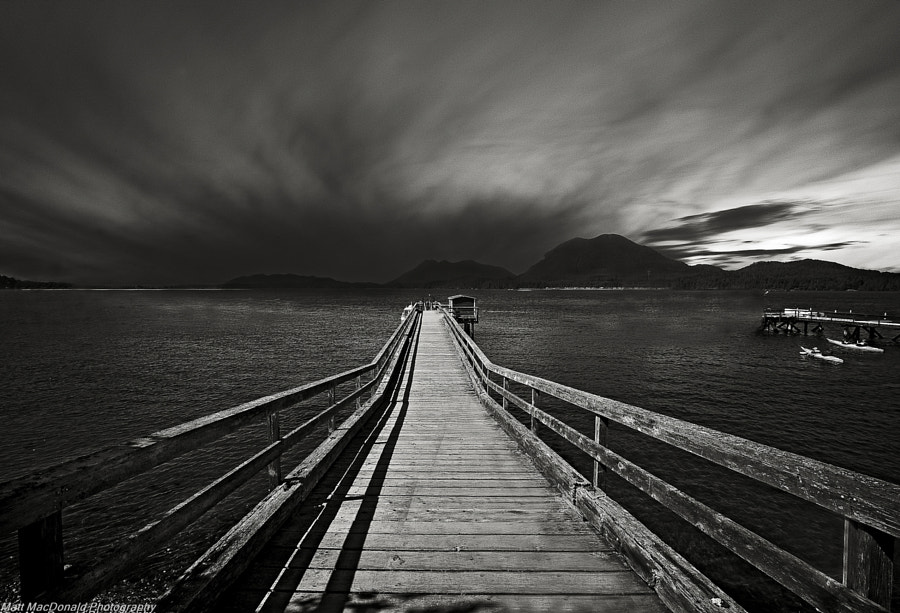 Tofino Fishing Pier by Matt MacDonald on 500px.com