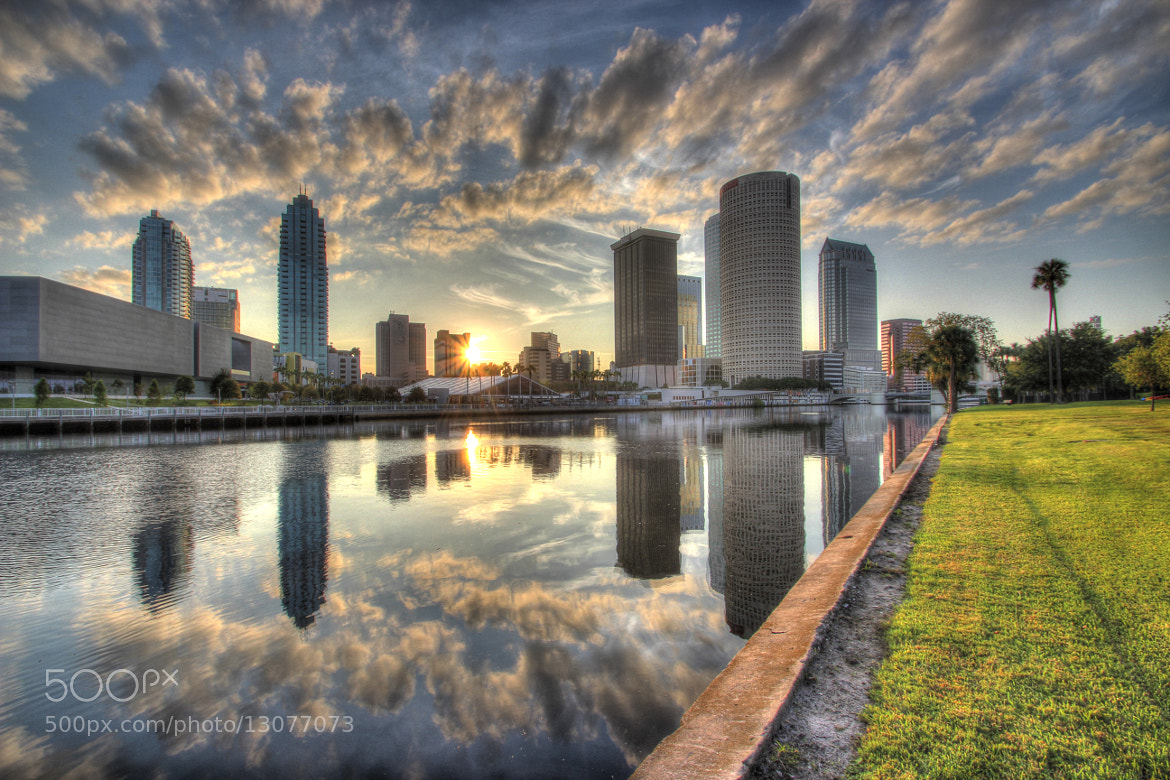 Photograph Downtown Sunrise by Tally Vickory on 500px