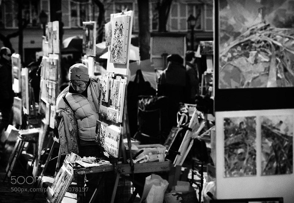 Photograph Montmartre by Pablo Rodriguez on 500px