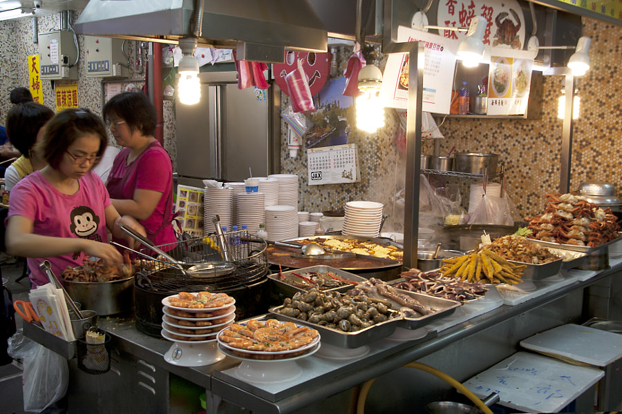 Shilin Night Market - Taipei by Sammy Khu on 500px.com