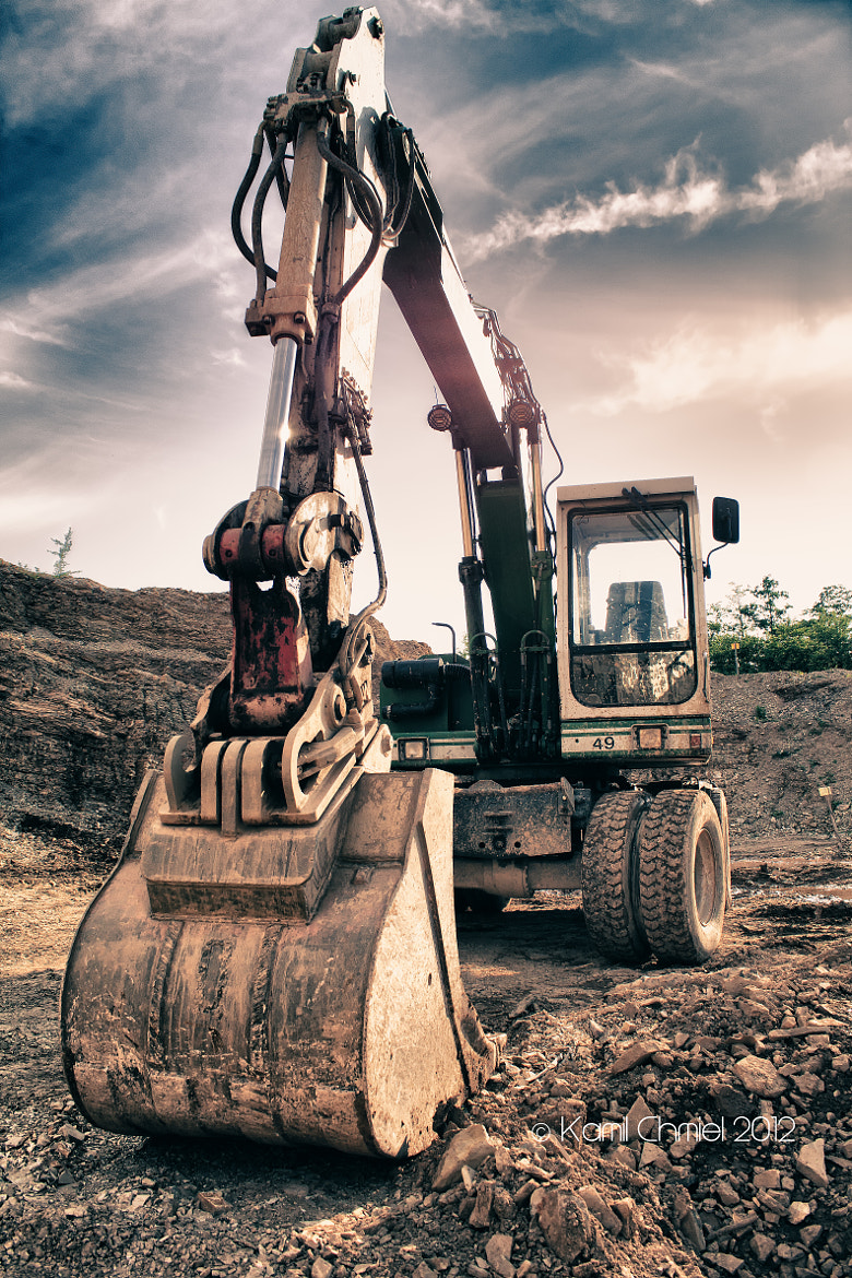 Photograph Excavator by Kamil Chmiel on 500px