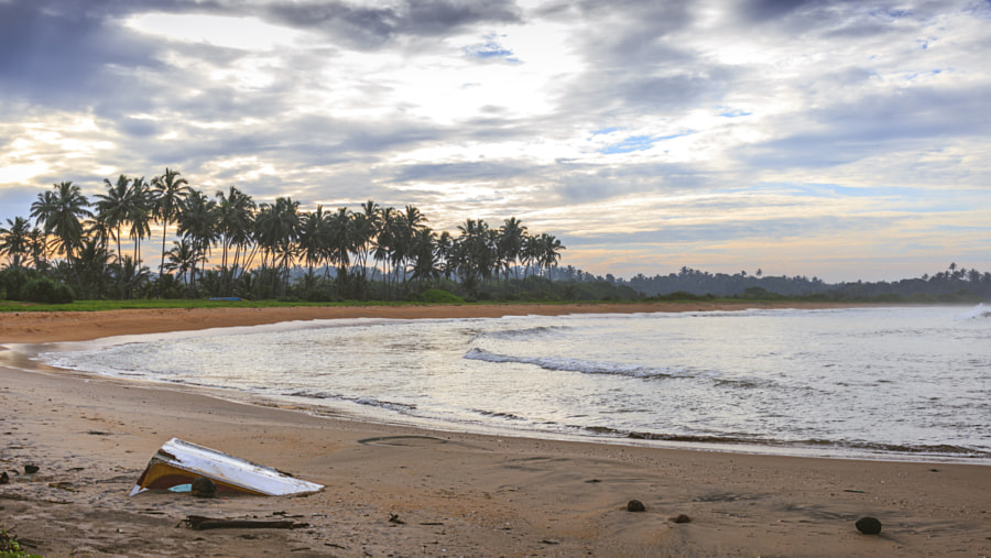 Secluded Bay, Waikkal, Sri Lanka by Son of the Morning Light  on 500px.com