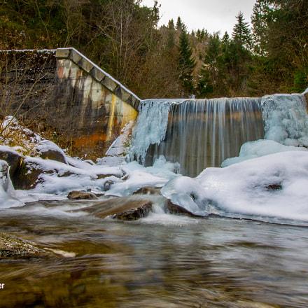 Eis und Wasser in Sillian