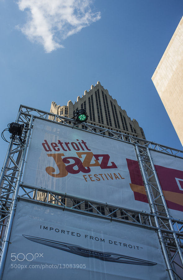Photograph Detroit Jazz Festival by Roy Feldman on 500px
