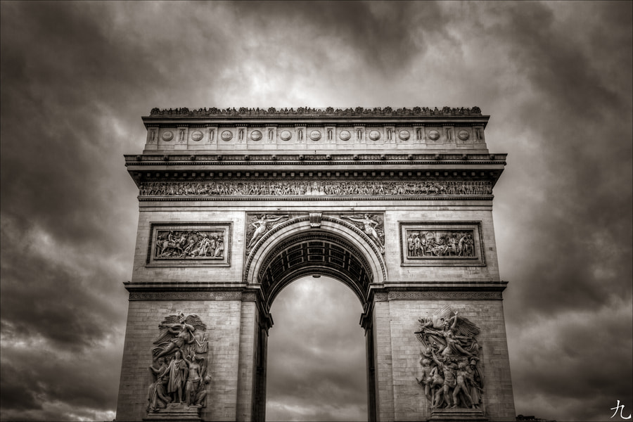 Photograph Arc de triomphe by Frédéric Baque on 500px
