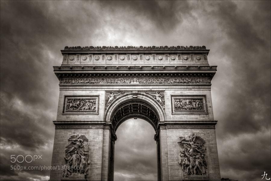 Photograph Arc de triomphe by Frédéric Baque on 500px