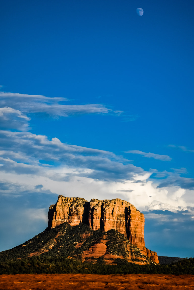 Photograph Big Rock, Bigger Sky by Nick Tsouroullis on 500px