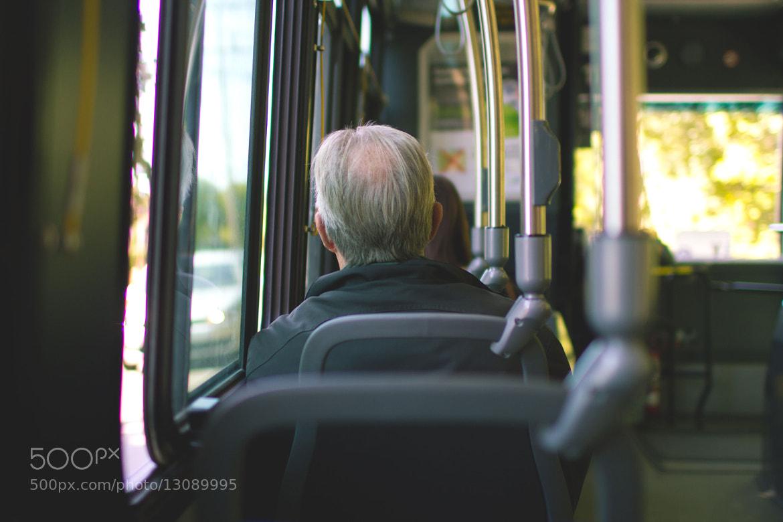 Photograph L'homme de la bus. by Maxime Lapierre on 500px