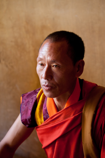Photograph Monk in Bhutan by Dorothy Brodsky on 500px