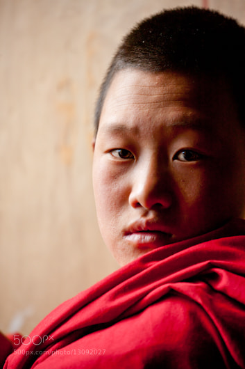 Photograph Young Monk  by Dorothy Brodsky on 500px