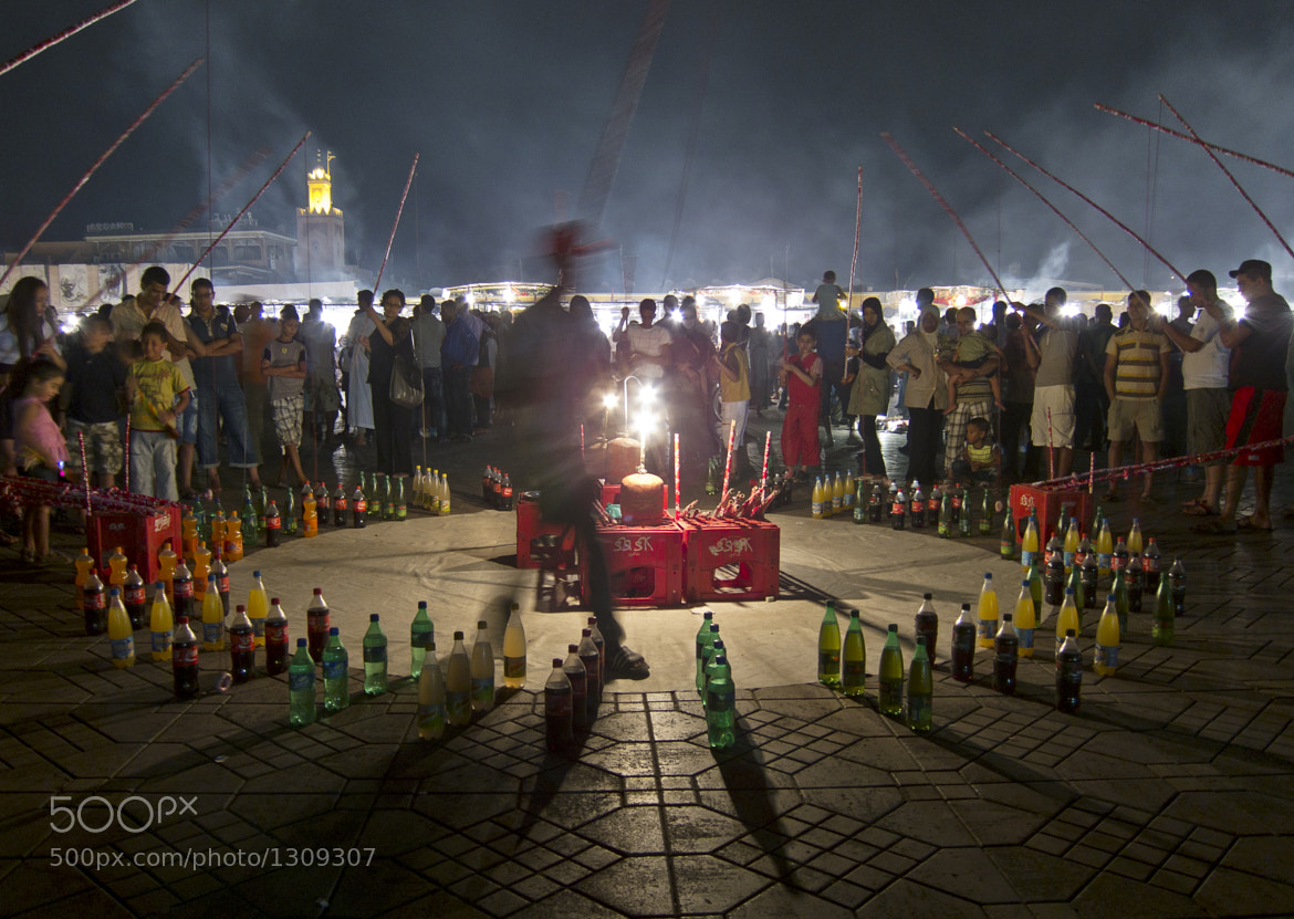 Photograph Night Games at Jemaa El Fna by Dan Lee on 500px