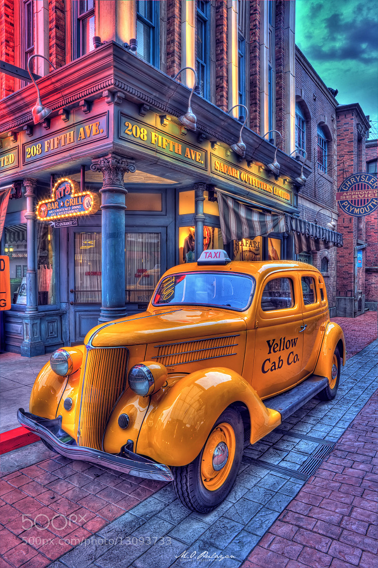 Photograph Yellow Cab by Melv Pulayan on 500px
