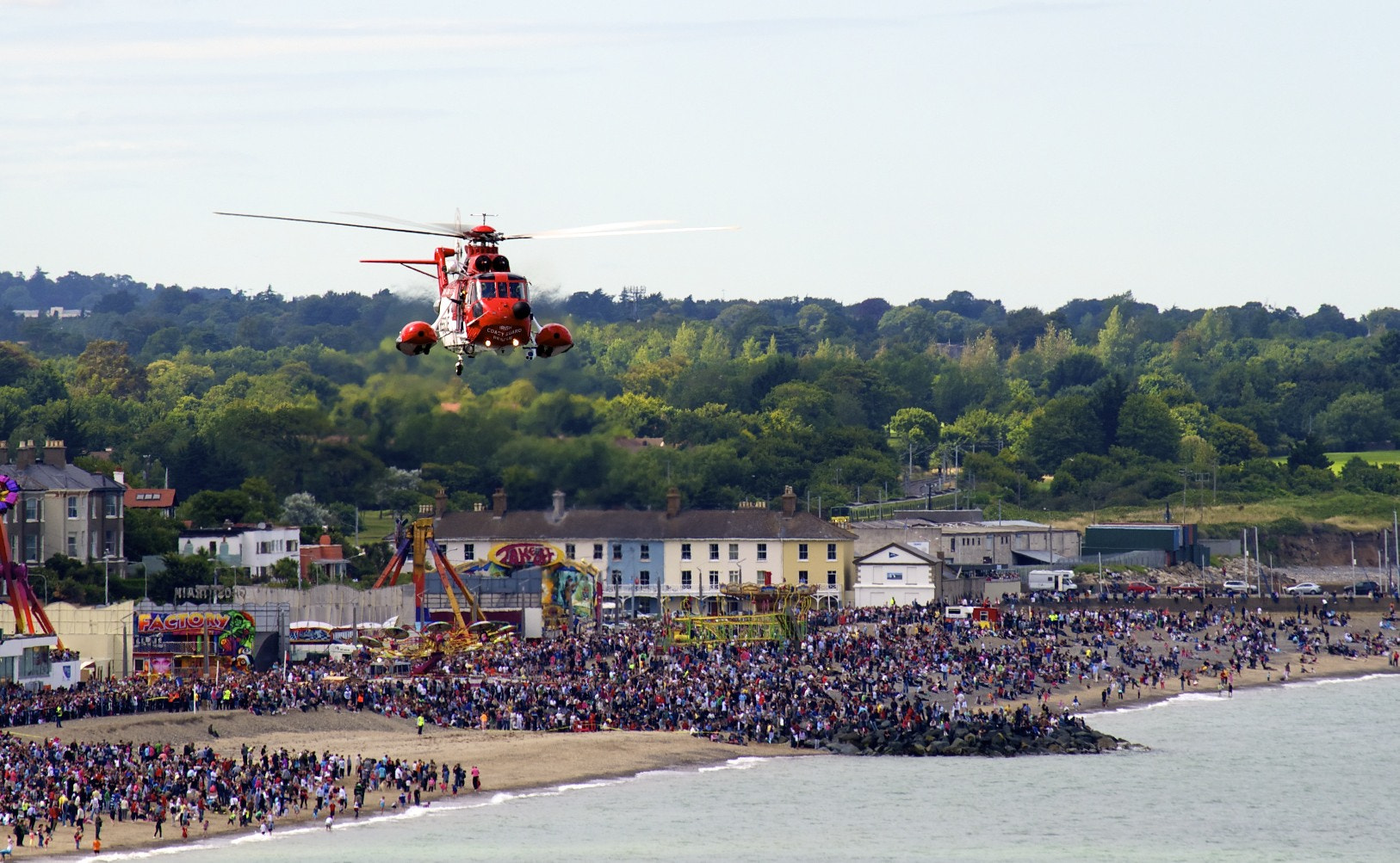 Photograph Air Sea Rescue Helicopter by Damian Synnott on 500px