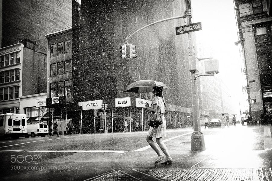 Rain on 5th Avenue by Luke Bhothipiti on 500px.com