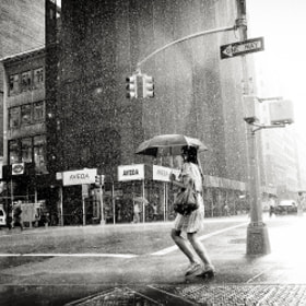 Rain on 5th Avenue by Luke Bhothipiti (lukebhothipiti)) on 500px.com