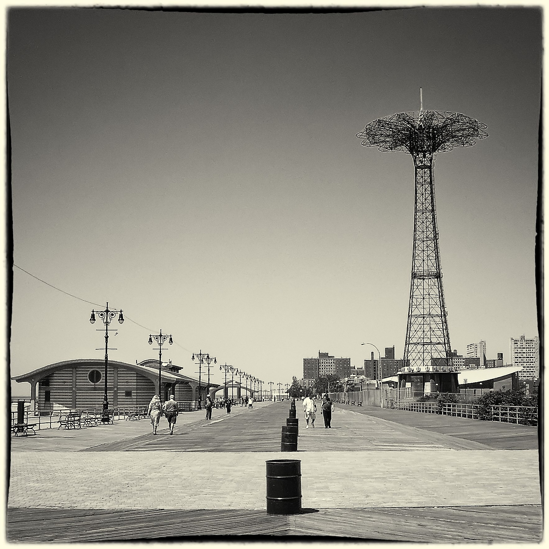 Photograph Coney Island by where the user has no names on 500px
