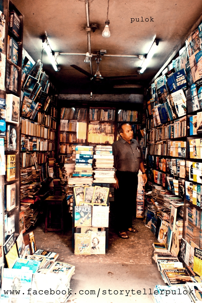 Photograph my father at bookstall  by Pulok Kumar on 500px