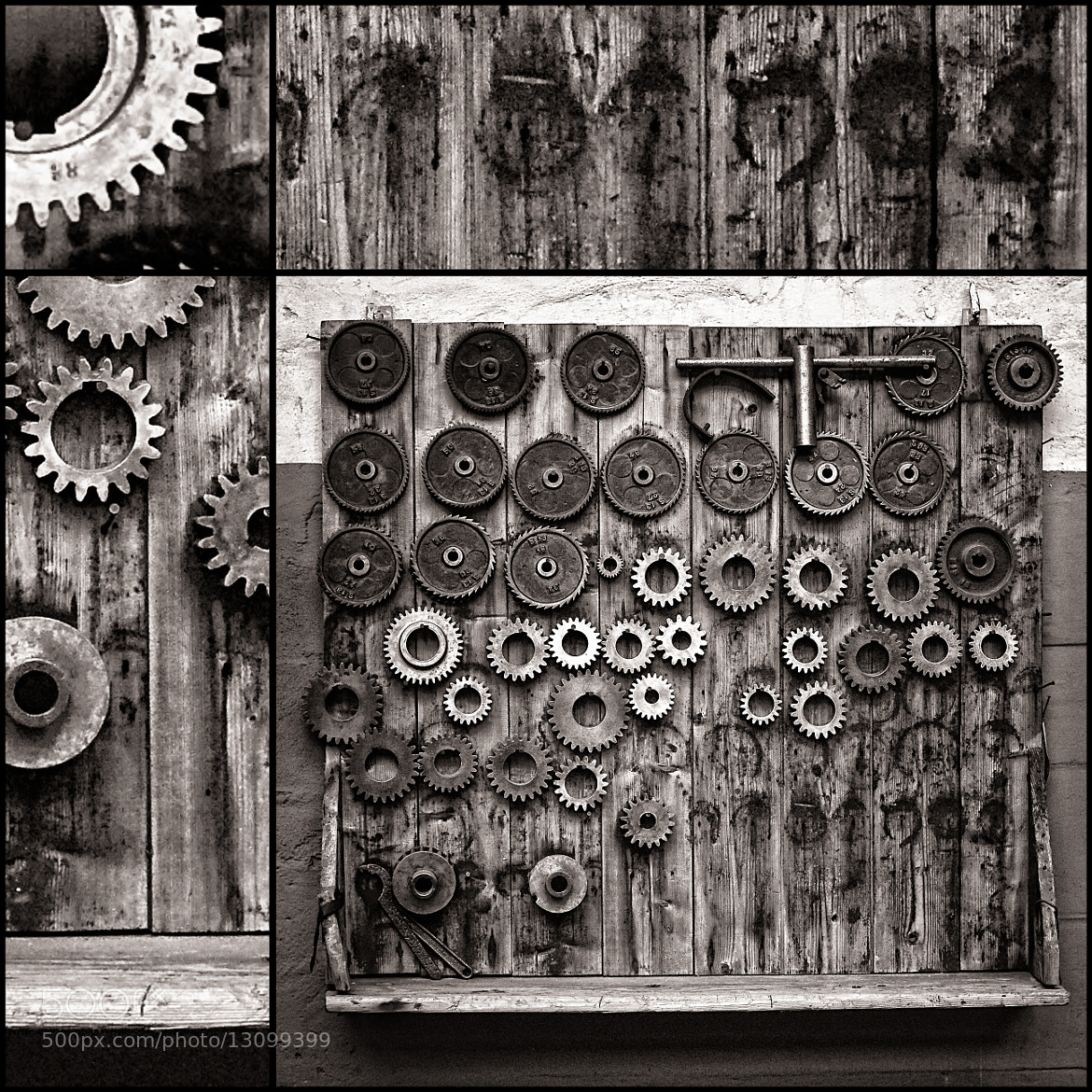 Photograph  Cogwheels by Thomas Lottermoser on 500px