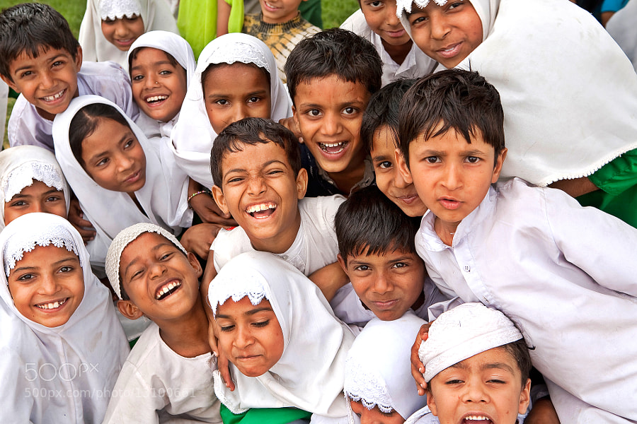 Muslim Children, Jaipur