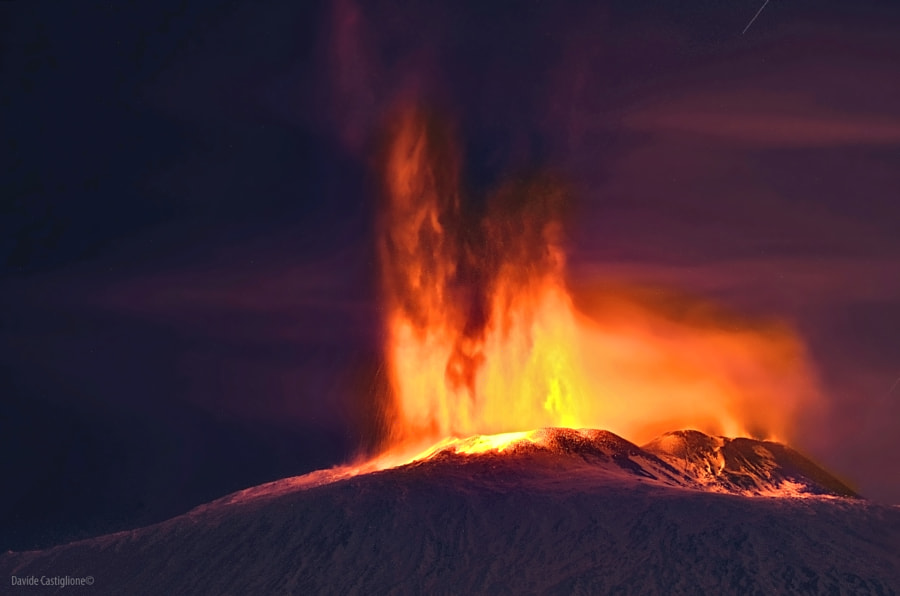 The Volcano Etna by Davide Castiglione on 500px.com